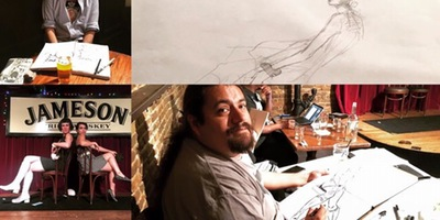 Original Drink & Draw W/ The Gallery Girls @Casey's Irish Pub
