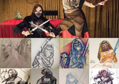 Valley Drink & Draw - Assassins