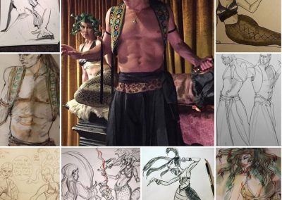 Valley Drink & Draw - Sinbad vs Madusa