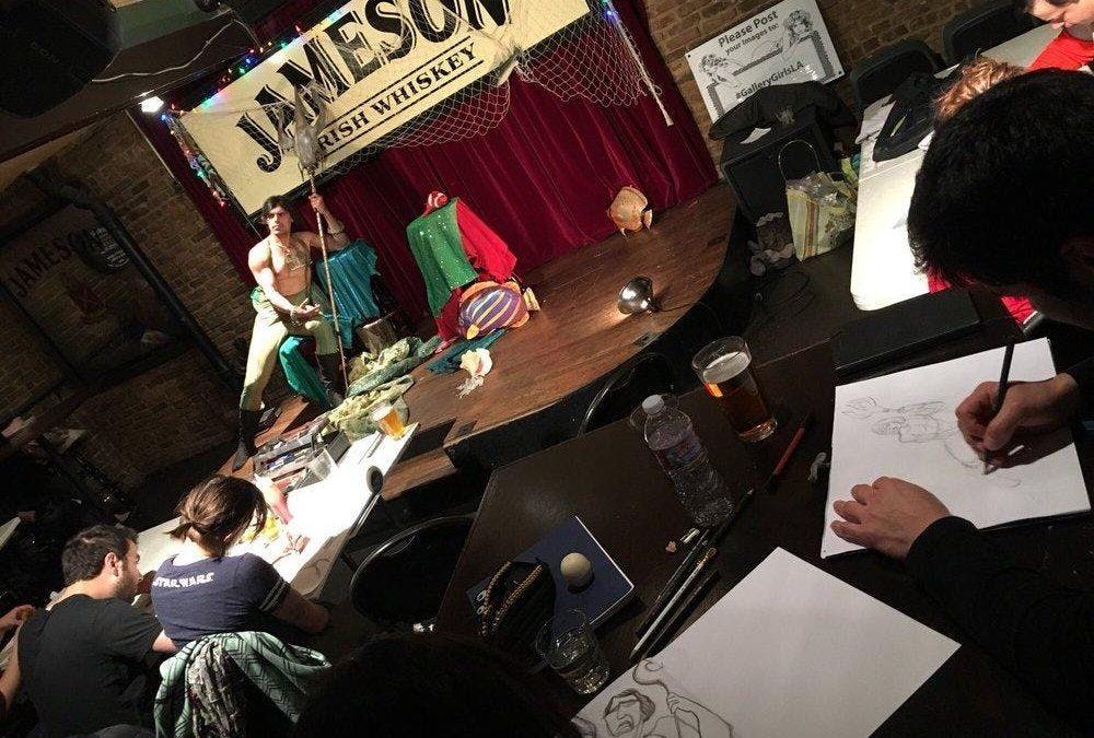 Original Drink & Draw W/ The Gallery Girls @Casey's Irish Pub