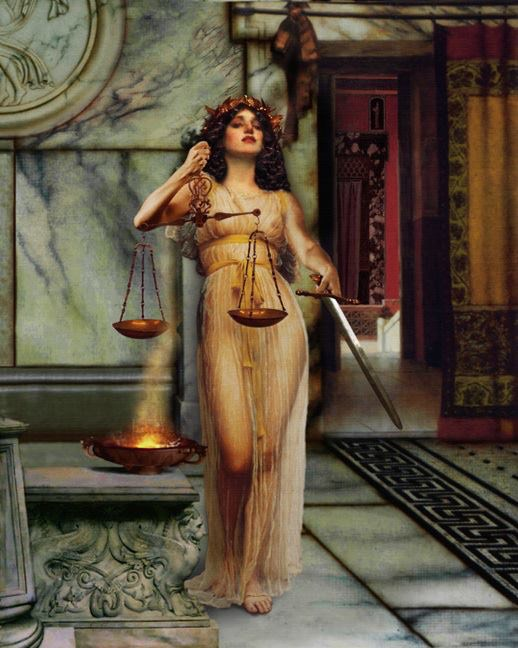 """Drinky Draw: """"Lady Justice"""" at Noche Azul (Now 2X a Month!)"""